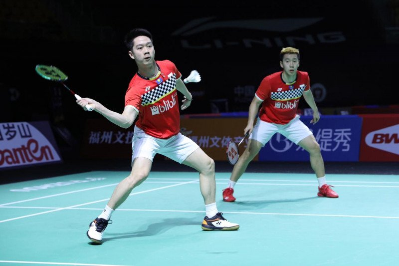 Marcus/Kevin masuk semifinal Fuzhou China Open