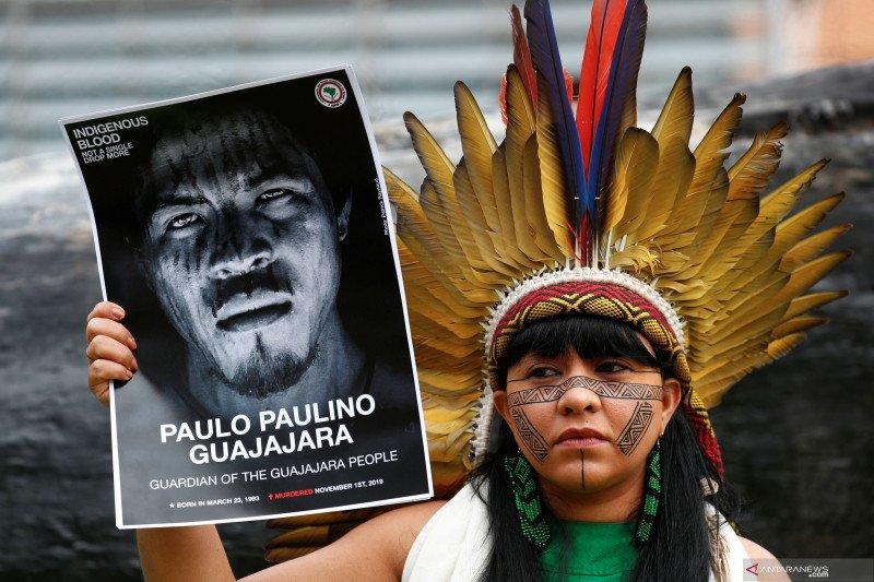 Perangi COVID-19, kelompok pribumi Amazon minta sumbangan