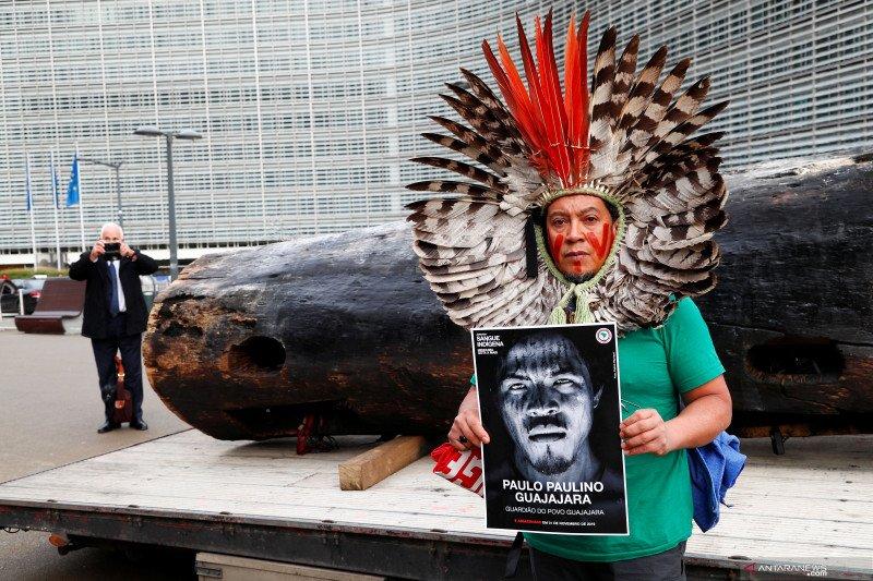 Suku pribumi Brazil tentang langkah Bolsonaro rusak hutan Amazon