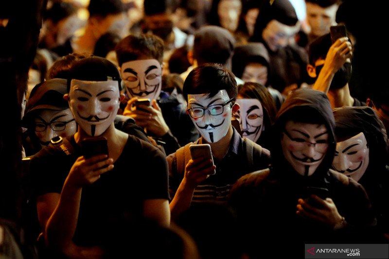 Pejabat: China dukung tindakan tegas terhadap protes Hong Kong