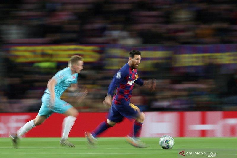 Barcelona vs Slavia Praha berakhir imbang tanpa gol