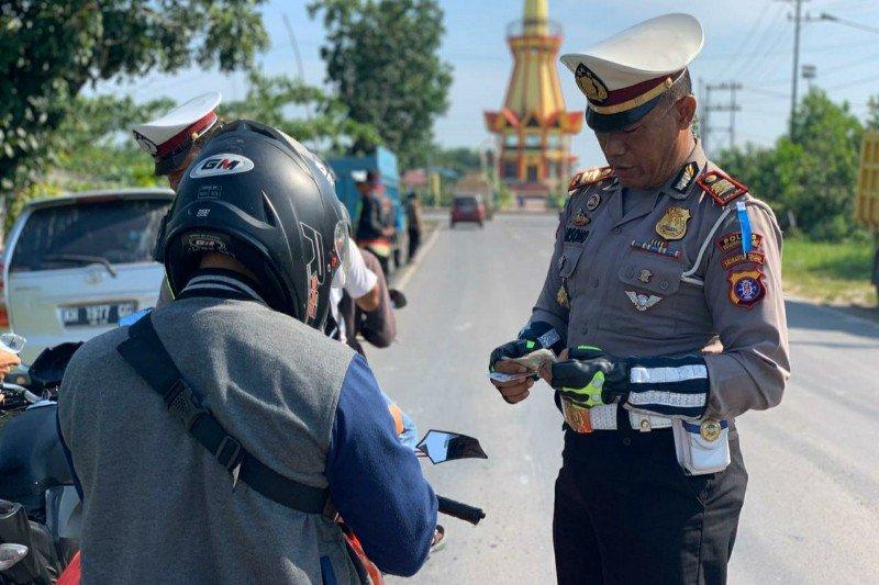 1.276 pelanggar ditindak selama Operasi Zebra Telabang 2019 di Kobar