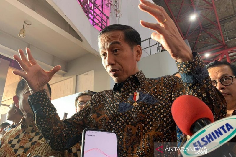 Presiden Jokowi akan lantik Pimpinan dan Dewan Pengawas KPK siang ini