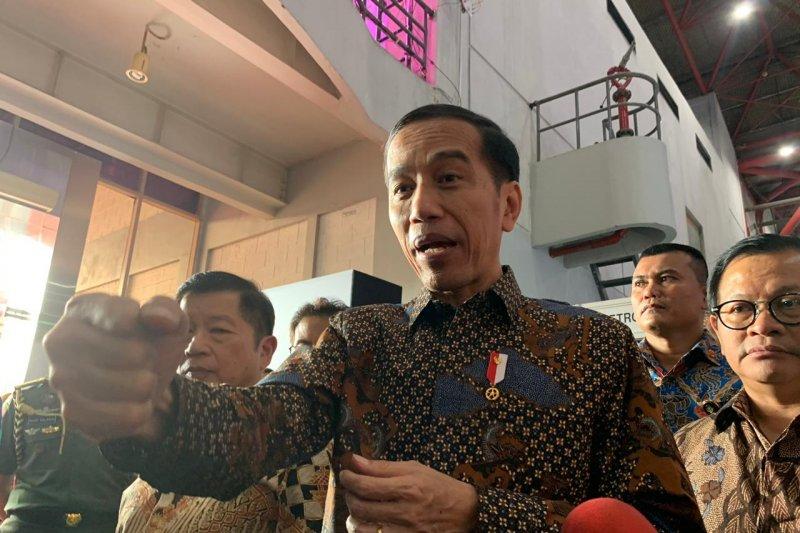 Jokowi akan bangun ibu kota baru  dengan sistem klaster