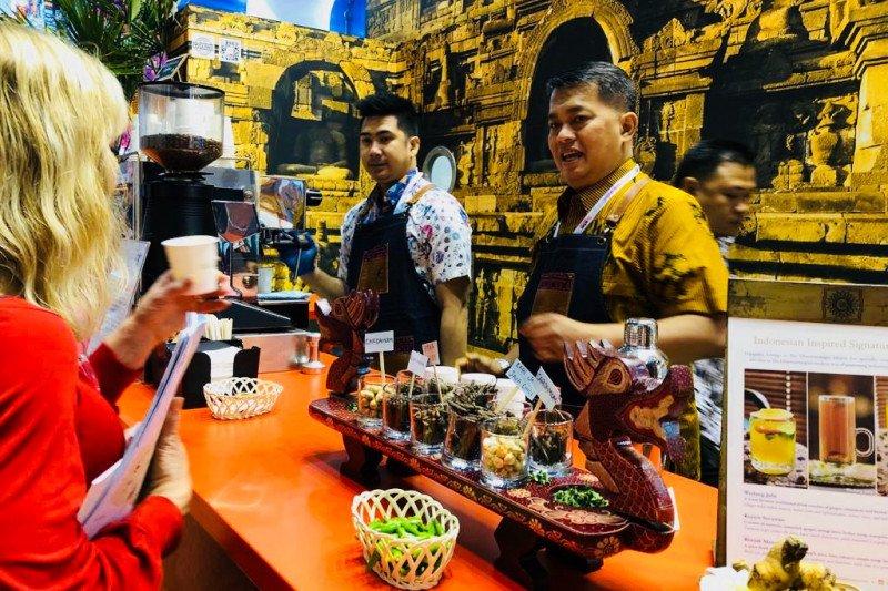 Kopi dan minuman tradisional  Indonesia digemari pengunjung WTM London