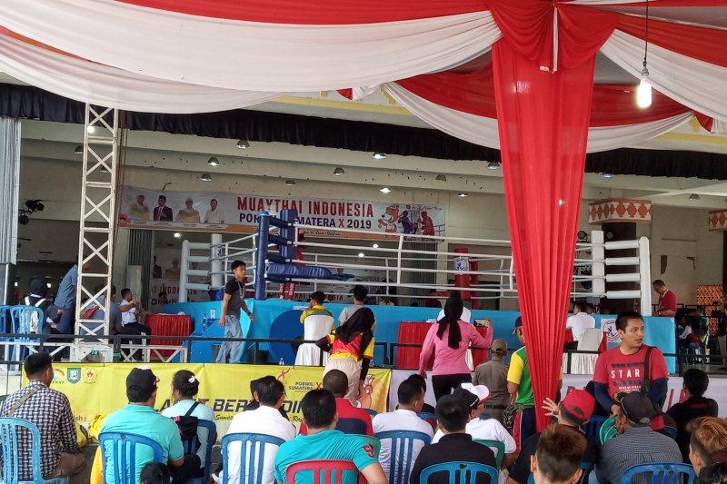 Atlet Muaythai Lampung raih medali emas