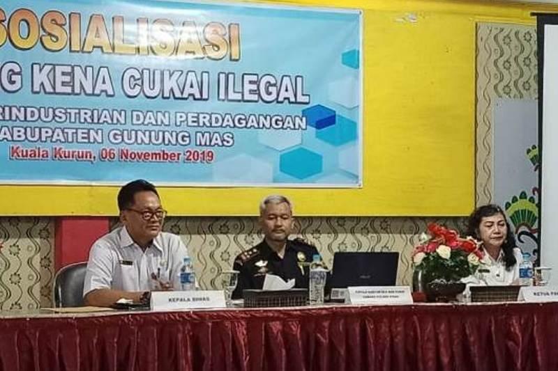 Disperindag Gumas sebut barang kena cukai ilegal rugikan negara