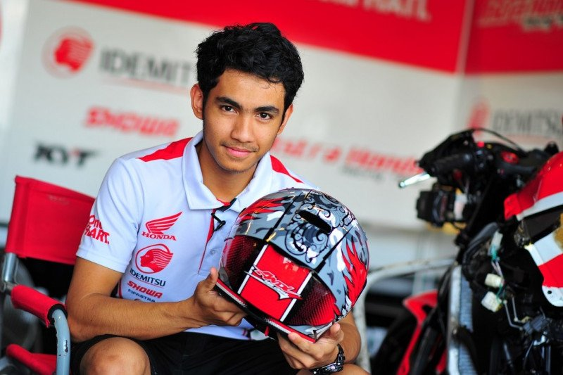 Andi Gilang asal Sulsel, wakil Indonesia di Moto2 musim 2020