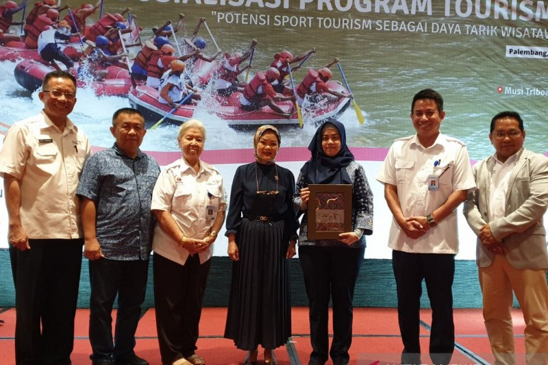 Dinas Pariwisata Palembang  padukan wisata sungai dengan olahraga