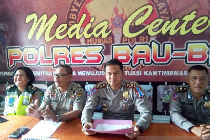Operasi Zebra, Satlantas Baubau tilang 1.808 kendaraan