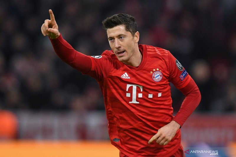 Bayern rebut tiket 16 Liga Champions setelah cukur Olympiakos