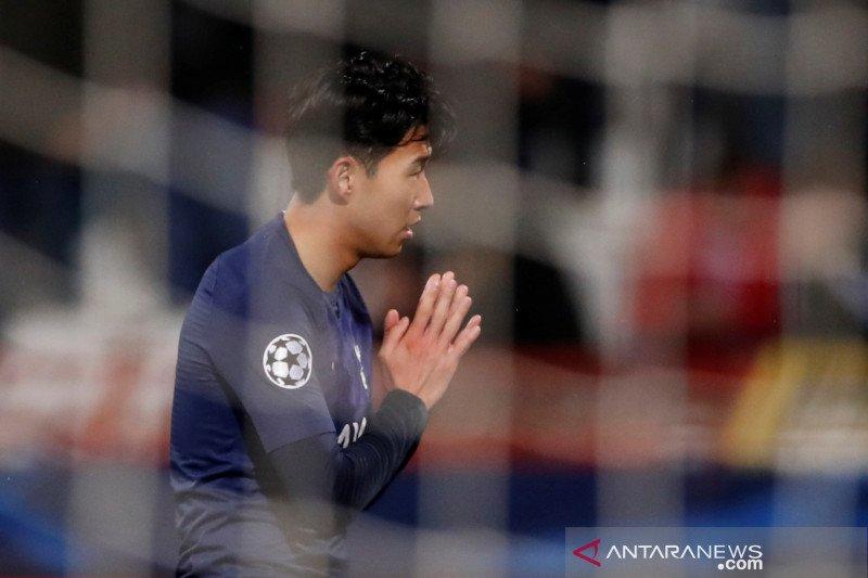 Hormati Andre Gomes, Son Heung Min tidak rayakan gol