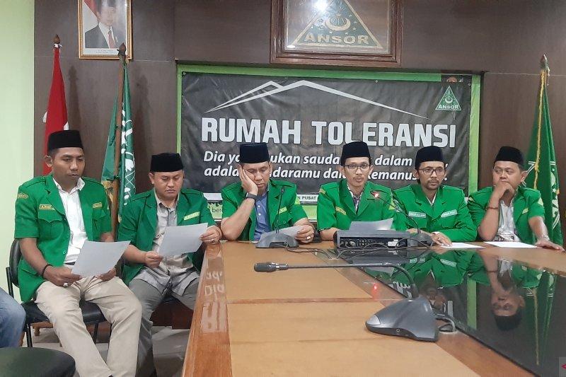 GP Ansor akan berada di garda terdepan lawan isu radikalisme agama