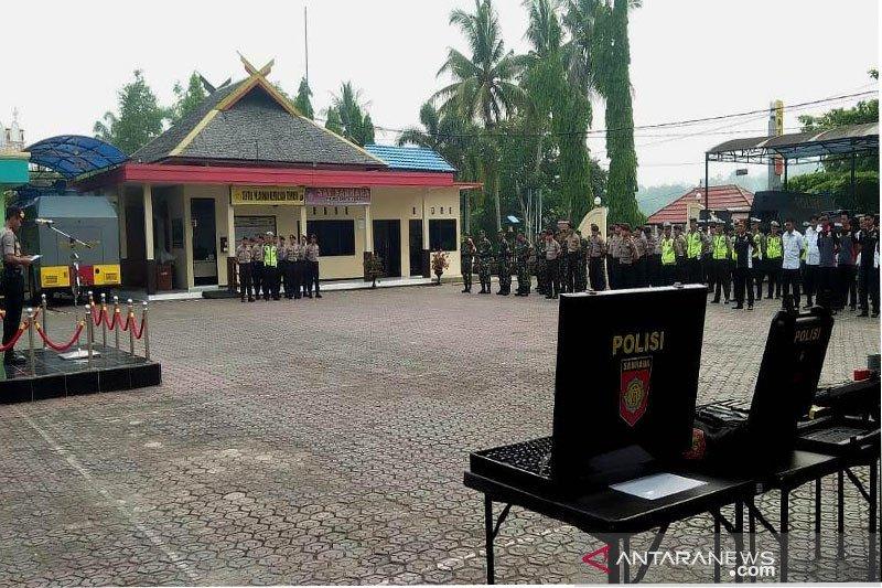 Polres Barut siagakan puluhan personel amankan Pilkades