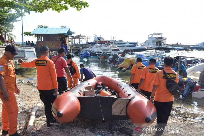 Tim SAR cari penumpang kapal jatuh di perairan Biak Numfor