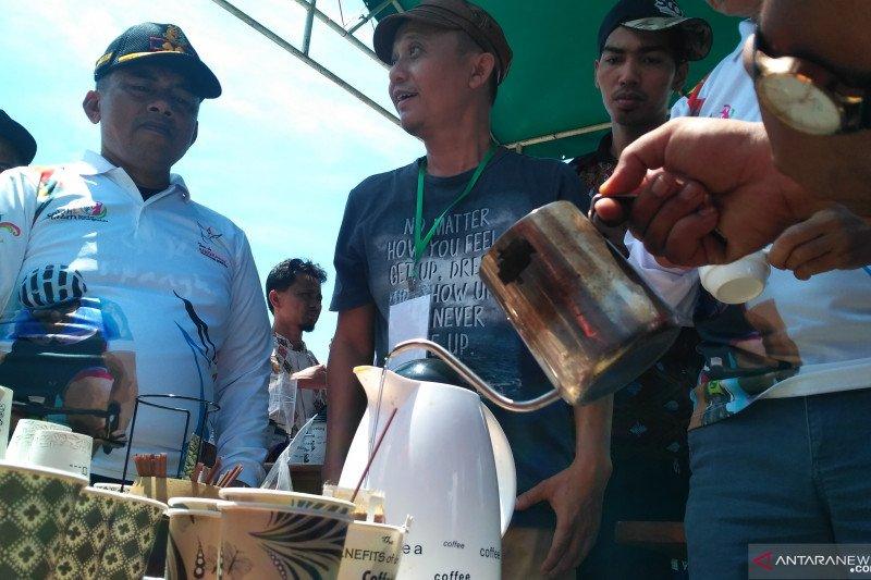 Ayo buruan, ada kopi gratis untuk pengunjung TdS saat finis di Solok Selatan