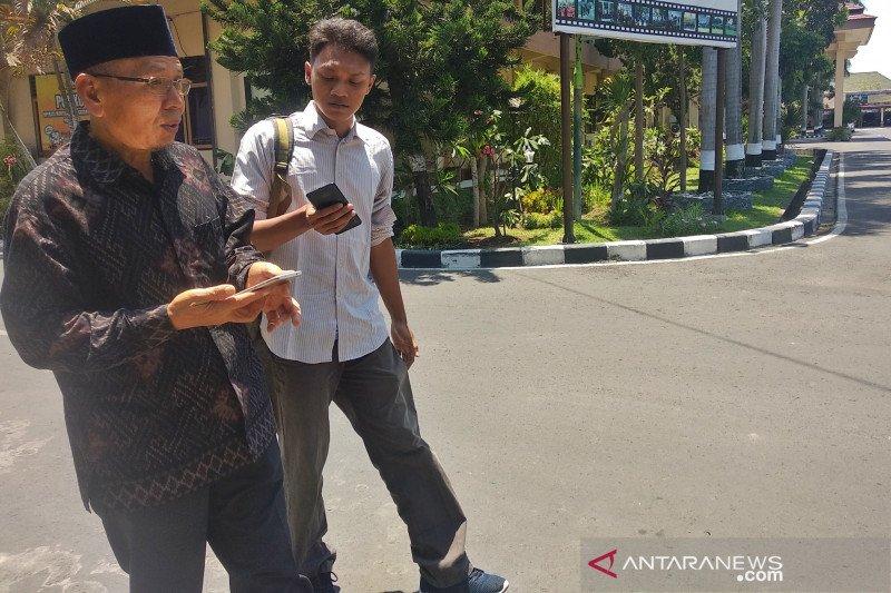 Sekda Lombok Utara memberi klarifikasi ke penyidik Polda NTB