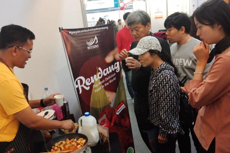Rendang Minang turut hadir di International  Food Expo Korea Selatan