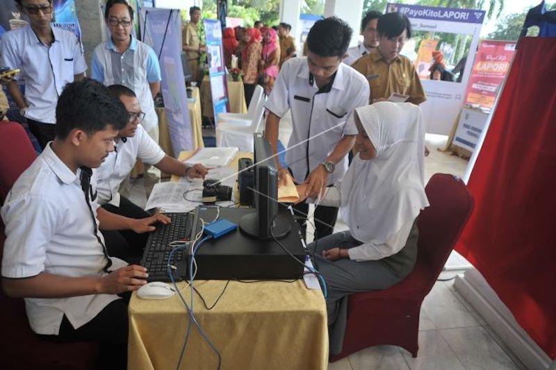 Blangko e-KTP di Sumatera Selatan  terbatas