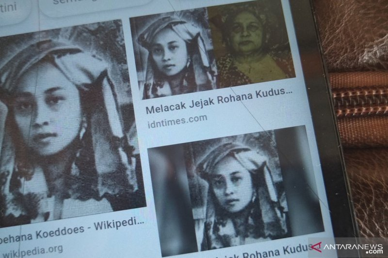 The first woman journalist in Indonesia from Agam Ruhanna Kuddus become a national hero
