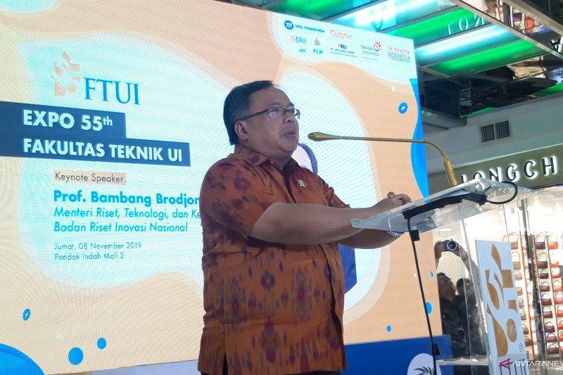 Menristek dorong mahasiswa bumikan engineering untuk Indonesia