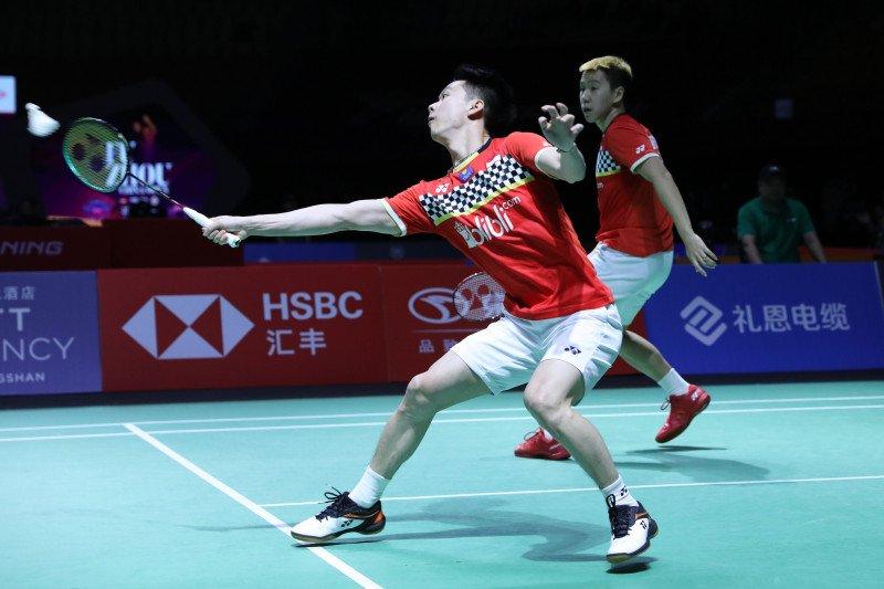 Masuk  babak semifinal Fuzhou China Open, Marcus/Kevin tingkatkan fokus