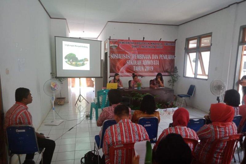 Pelestarian lingkungan libatkan para siswa di Minahasa Tenggara