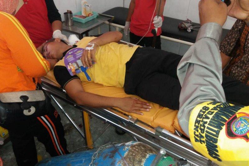 Dua polisi di Donggala alami luka tembak di kepala dan leher