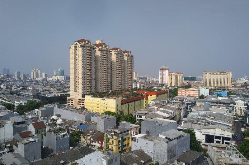 Siang ini, Jakarta diprakirakan akan diguyur hujan