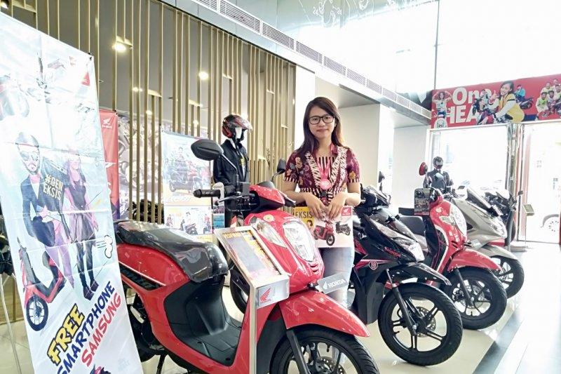 Honda jual 120 ribu unit motor di wilayah Kalselteng