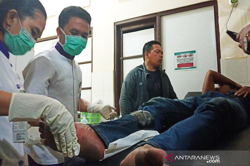 Polisi tembak seorang pencuri bertutup muka ala ninja  di Palangka Raya