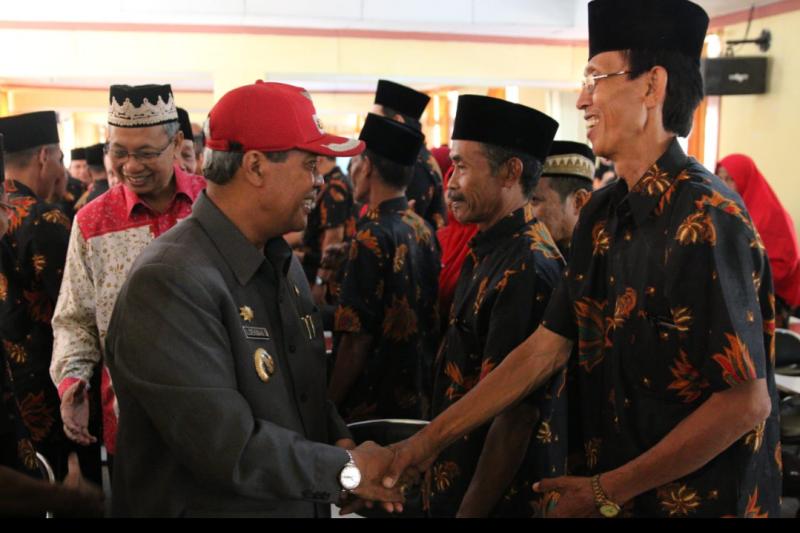 Bupati Lampung Tengah hadiri pengukuhan Perhiptani