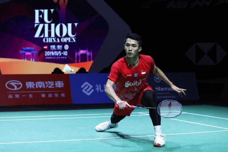 Jojo tantang unggulan ke-empat di perempat final Fuzhou China Open 2019
