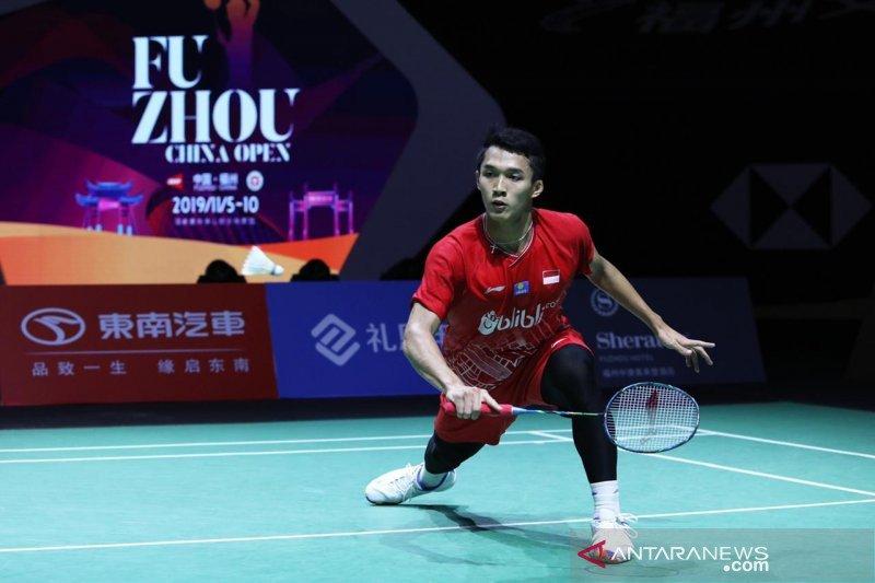 Dikalahkan unggulan keempat, Jojo gagal ke semifinal Fuzhou China Open