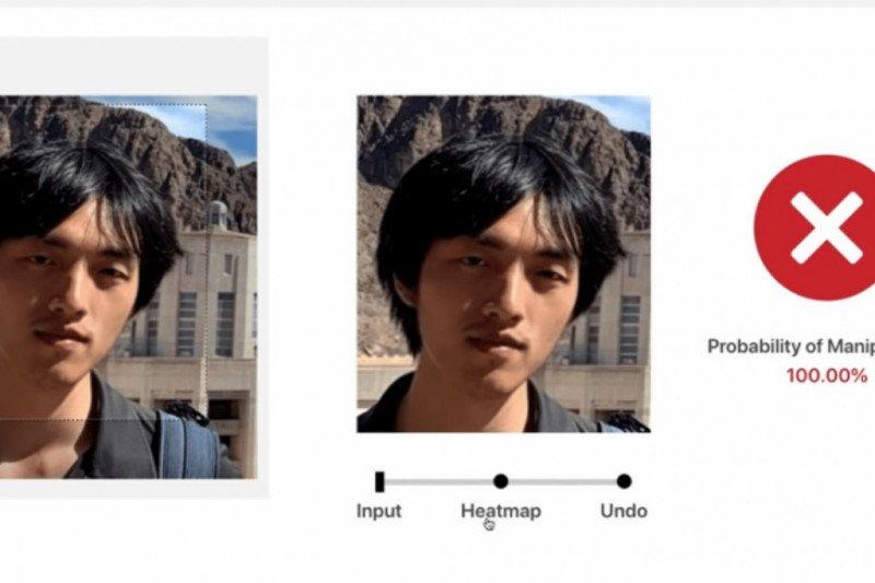 About Face deteksi manipulatif foto