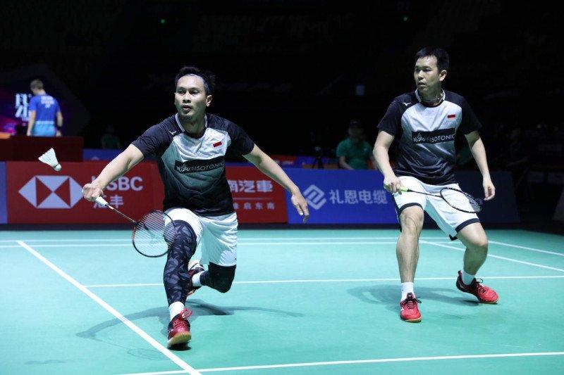 Ahsan/Hendra terhenti di perempat final Fuzhou China Open