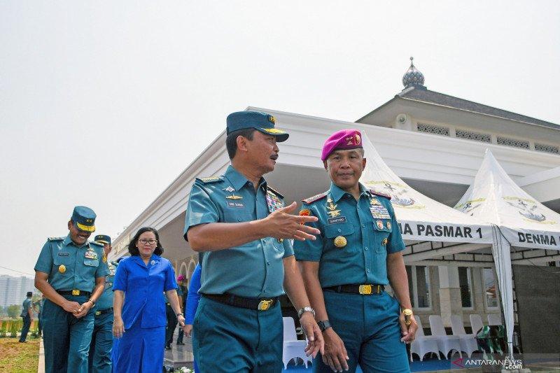 Kasal resmikan Masjid di Pasmar