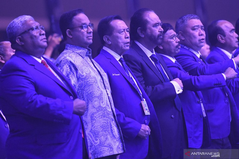 "Menjajal ""panggung"" politik Anies Baswedan di Partai Nasdem"