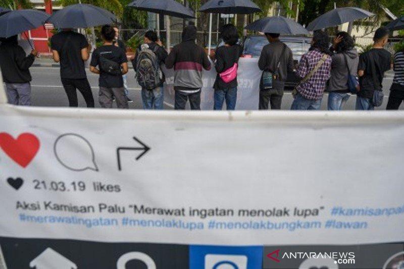 Aksi Kamisan ke-16 di Palu