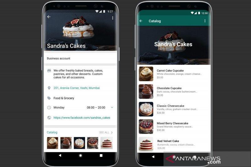 WhatsApp Bisnis resmi luncurkan fitur katalog