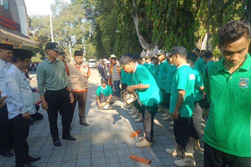 Pemkot Mataram gelar apel kesiapsiagaan penanganan bencana