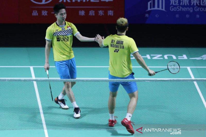 Marcus/Kevin melaju final Fuzhou China Open