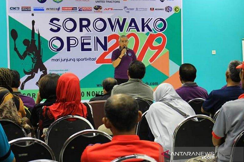 Bupati Lutim buka turnamen Tennis Sorowako Open 2019