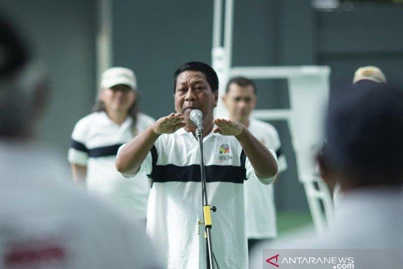 """Wali Kota Magelang resmikan lapangan tenis """"Moncer Serius"""""""