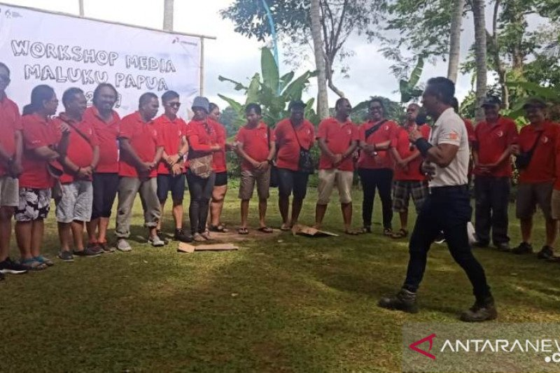 Pertamina dan wartawan Maluku-Papua gelar pertemuan media di Bali