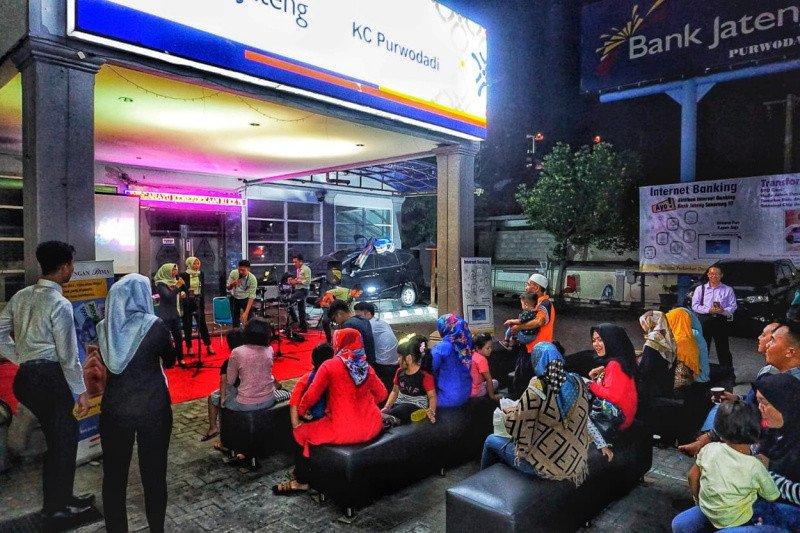 Cabang Purwodadi gelar acara Bank Jateng Goes to Cashless