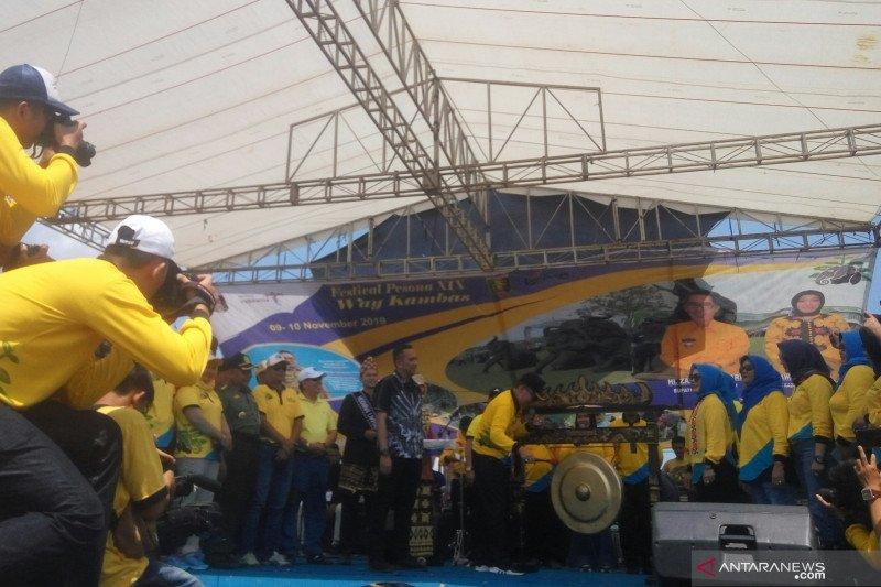 Festival Way Kambas 2019 resmi dibuka Bupati Lampung Timur Zaiful Bokhari