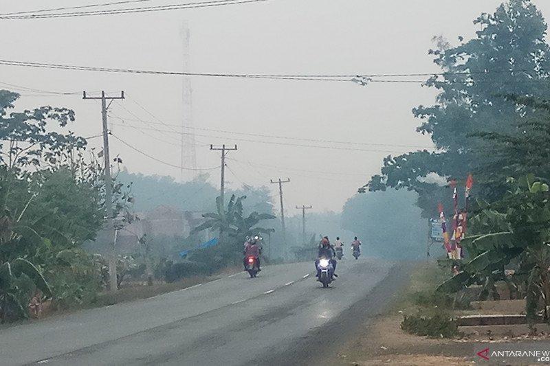 Kabut asap tebal resahkan warga Mesuji