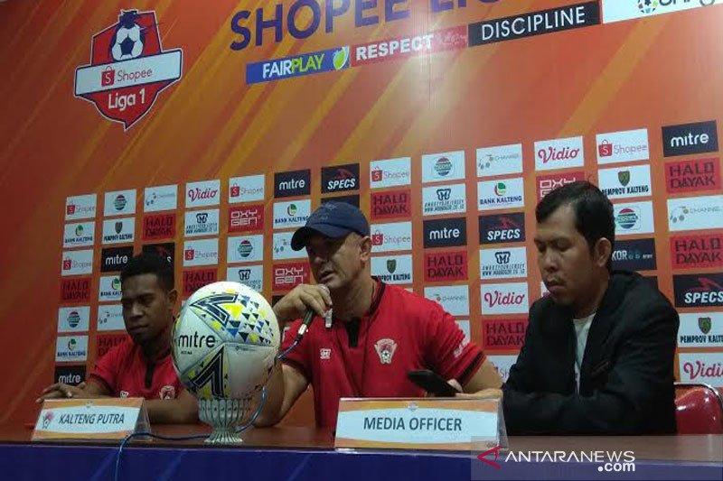 Kalteng Putra siap libas PSM Makassar di kandang