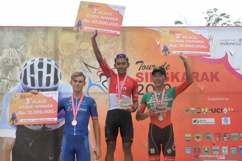 Pemenang etape kedelapan TDS 2019